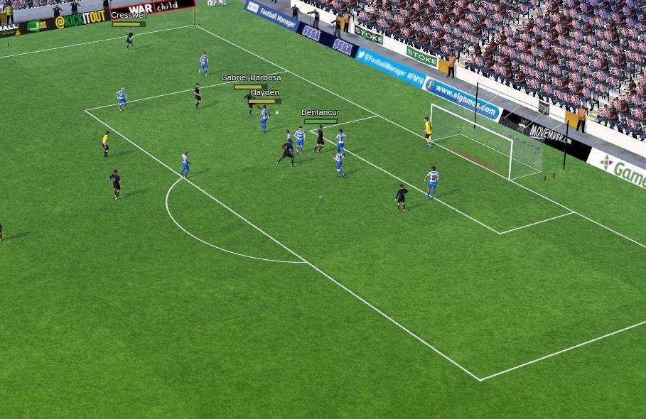 3rd goal 1st