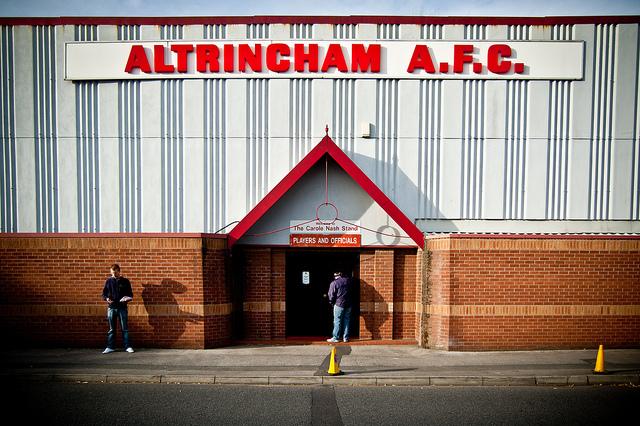 Moss Lane, Altrincham FC